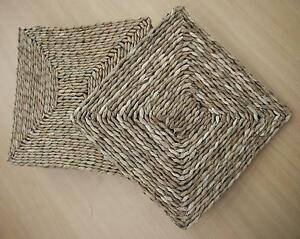 New Natural Seagrass Dining Table Setting Placemats Mats Set Of 6 Melbourne CBD Melbourne City Preview