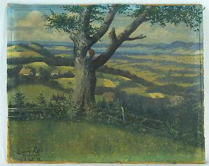 Emeran-Lidl-German-b-1870-original-oil-painting-signed-dated-1920
