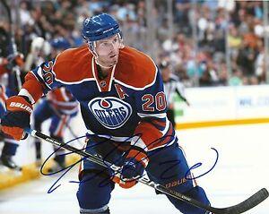 Autographed-Edmonton-Oilers-Eric-Belanger-8x10-Photo
