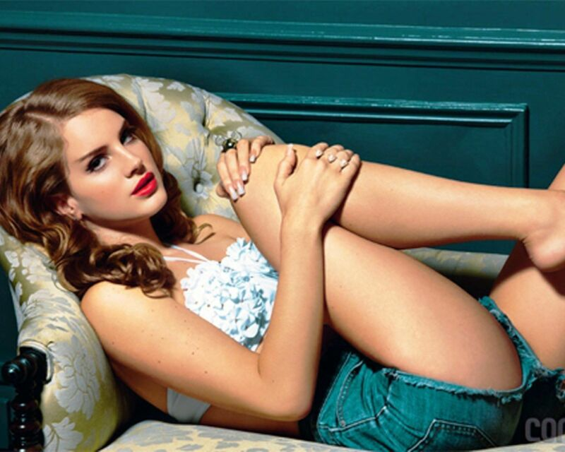 Lana Del Rey Posing In Short  8x10 Photo Print