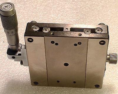 Sigma Koki Tsdh-701s Precision Linear Ultralign Stage W Newport Sm13 Micrometer