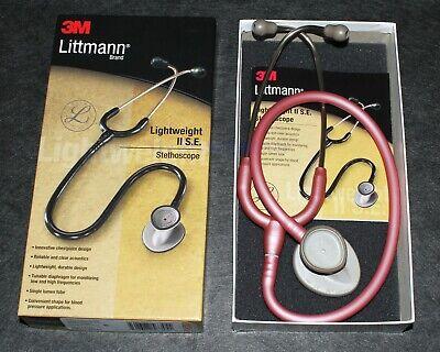 Littmann Lightweight Ii 2 Se Stethoscope 3m 2456- Pearl Pink New In Box Nursing