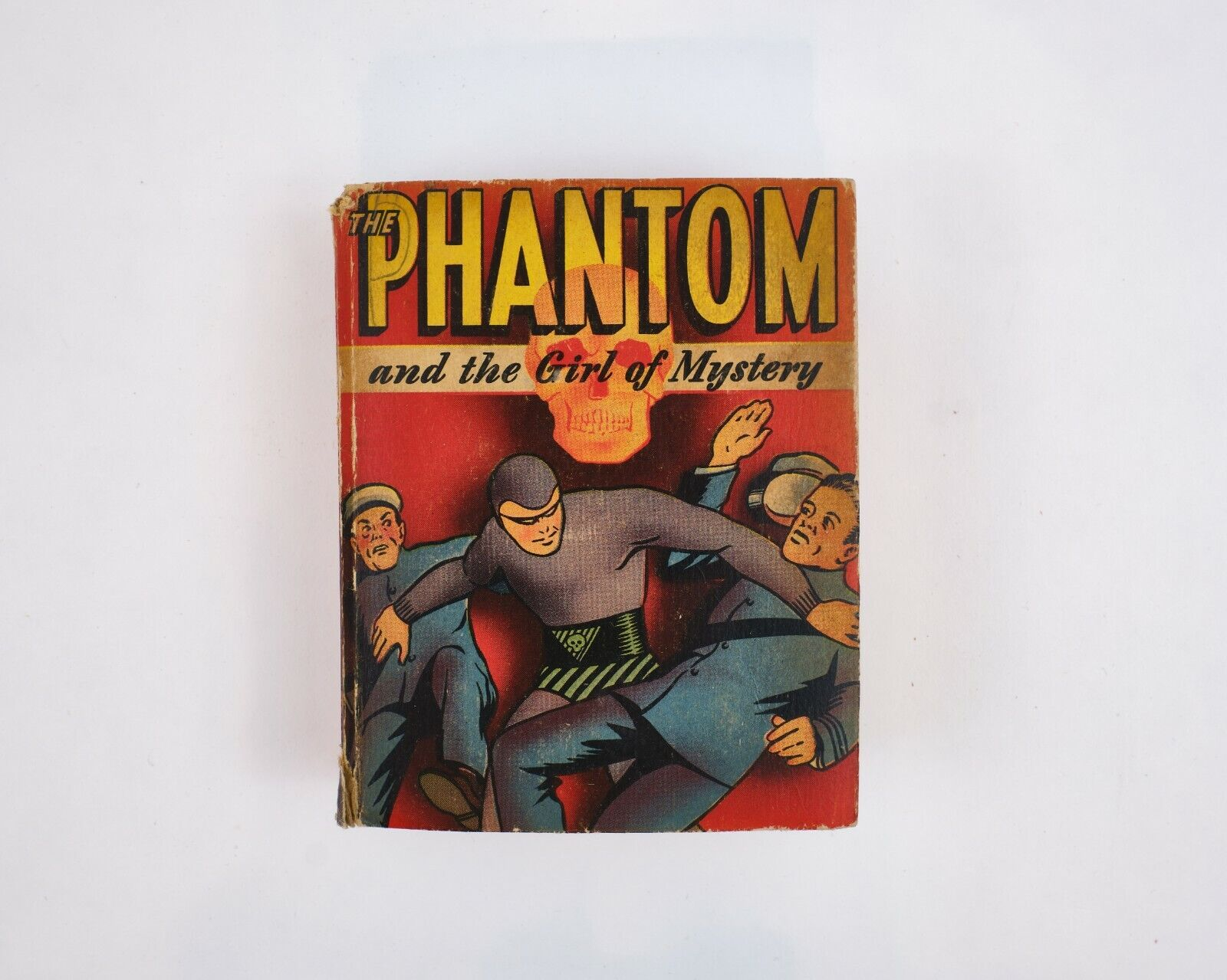 The Phantom And The Girl Of Mystery Vintage 1947 Better Little Book - $38.00