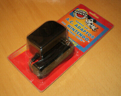 Sammlungsauflösung Nintendo NES 1989 Doc's Power Up AC Adapter NEW blister OVP