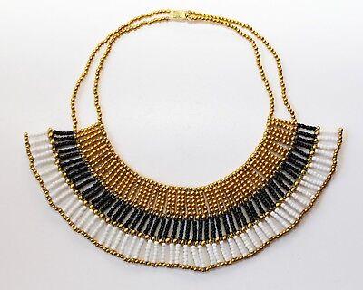 Cleopatra Halskette, Ägyptischer Pharao-Kragen, Handarbeit aus Ägypten,  ()