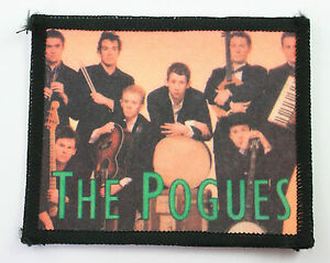 THE POGUES 'BAND' SEW ON PATCH