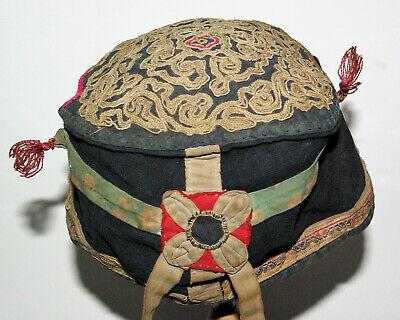 China Antique Coiffe Child Embroidered Xixè