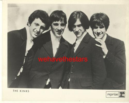 VINTAGE The Kinks POP ROCK SINGING GROUP 60s Ray Davies Publicity Portrait