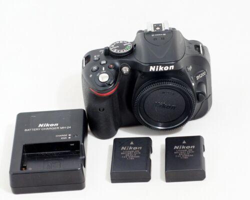 Nikon D5200 24.1MP Digital SLR Camera Body ONLY 20K SHUTTER COUNT