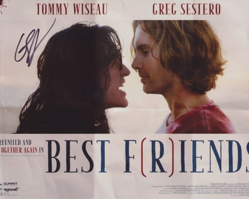 GREG SESTERO SIGNED BEST FRIENDS 8X10 PHOTO 2