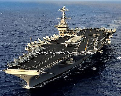 USS John C. Stennis (CVN 74): Premium 8 x 10 Photo: Nuclear Aircraft Carrier