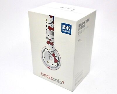 NEW Beats by Dr. Dre Solo 2 WIRED Hello Kitty 40th Anniversary Special Edition