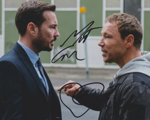 Stephen Graham/ Martin Compston Signed Line Of Duty 10x8 Photo AFTAL