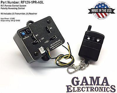 Rf Remote Control System - Polarity Reversing 12vdc Motor Control - Rf12v1pr-asl