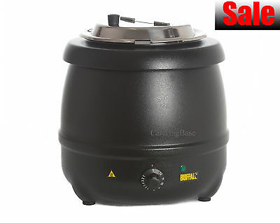 Budget 10L Soup Kettle Commercial Catering Stew Sauce Food Warmer Bain Marie Pot