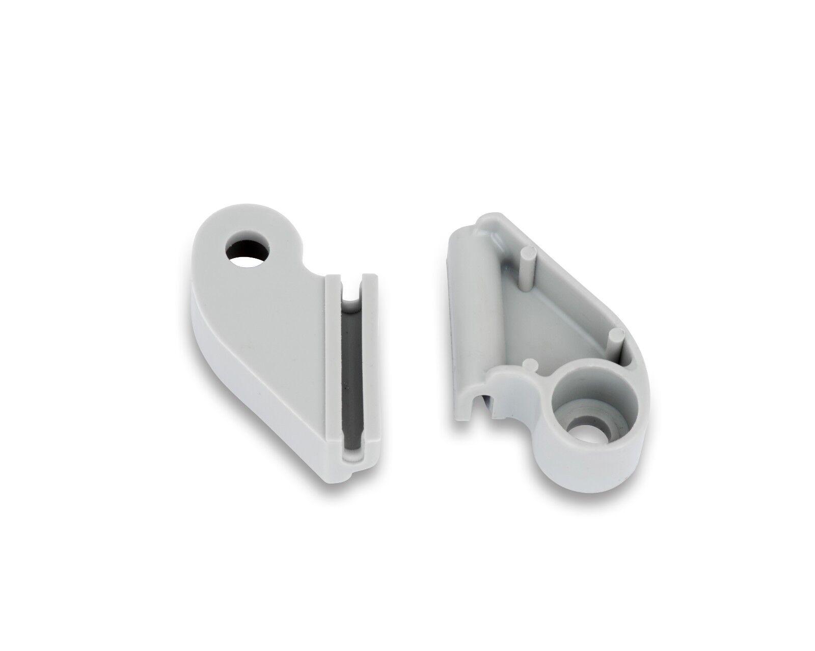 2 X Shower Door Guides For Some Coram Shower Door Models Ebay