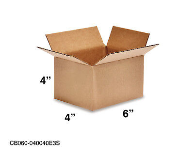 Mailing Moving Packing Shipping Cardboard Corrugated 6x4x4 Boxes 25 50 100 Pack
