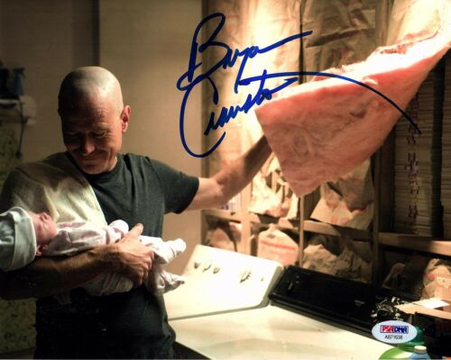 BRYAN CRANSTON SIGNED BREAKING BAD 8X10 PHOTO! AUTOGRAPH! HEISENBERG! PSA DNA 3