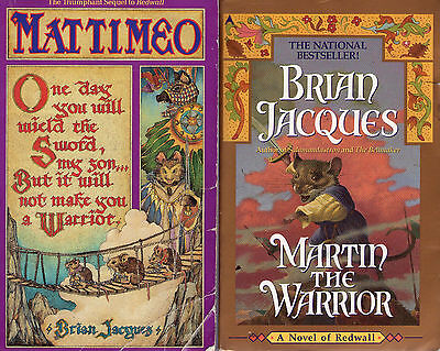 Complete Set Series - Lot of 21 Redwall Books by Brian Jacques (Fantasy)