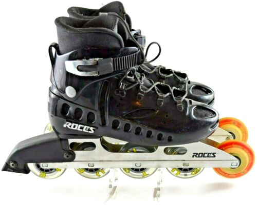 ROCES CDG Paris Speed Skates Size Inline Roller Blades - 80 mm Size 10.5