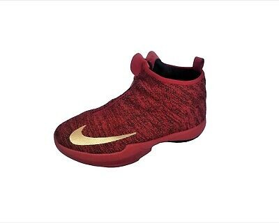 Red Black NikeZoom Kobe Icon Basketball Shoe