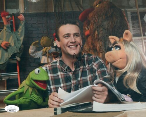 JASON SEGEL Signed THE MUPPETS 8x10 Photo Autograph JSA COA