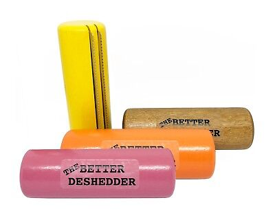 The Better Deshedder Twin Blade Dog Grooming Brush Reduces Shedding by (The Best Dog Brush For Shedding)