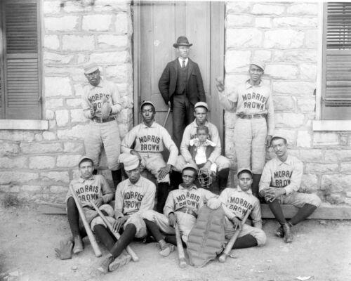 African American Players- Morris Brown Baseball Team-Atlanta GA -1899 Photo