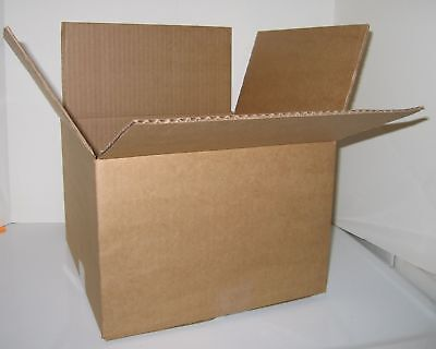 Corrugated 8x6x4 Cardboard Moving Shipping Boxes Mailing Cartons