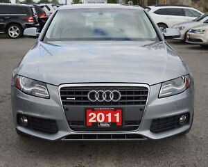 2011 Audi A4 2.0T Premium 6M AWD | GREY LEATHER INTR | SUNROO...