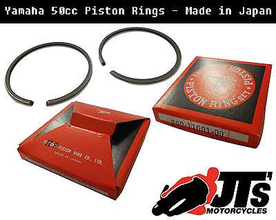 PISTON RINGS <em>YAMAHA</em> YZ50 G H J K 1980 1983 050 OVERSIZE MADE IN JAP