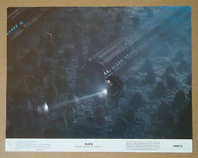 ALIEN Ridley Scott SIGOURNEY WEAVER 11x14 LOBBY CARD #6