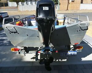 Aluminium Runabout & Trailer Maylands Bayswater Area Preview