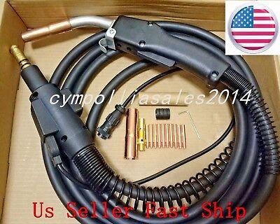 Us Seller Mig Welding Gun 15 250amp Replacementlincoln Magnum 250lpower Mig
