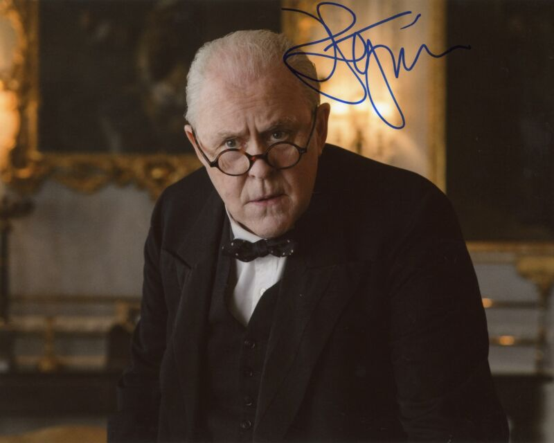 "John Lithgow ""The Crown"" AUTOGRAPH Signed 8x10 Photo B ACOA"