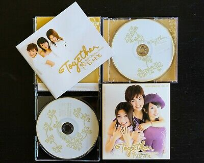 S.H.E (Selina, Hebe, Ella) - TOGETHER Best Collection CD+VCD+Book (Taiwan) 新歌+精選