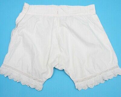 Antique Child's White cotton knickers 26