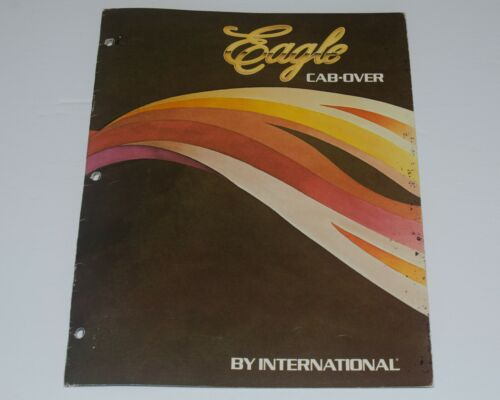 International Eagle Cab-Over Trucks Sales Brochure 1980