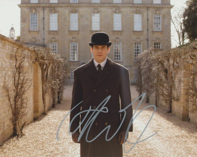 ROBERT JAMES COLLIER SIGNED DOWNTON ABBEY 8X10 PHOTO 3