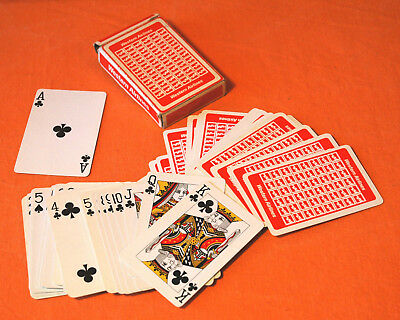 western airlines playing cards
