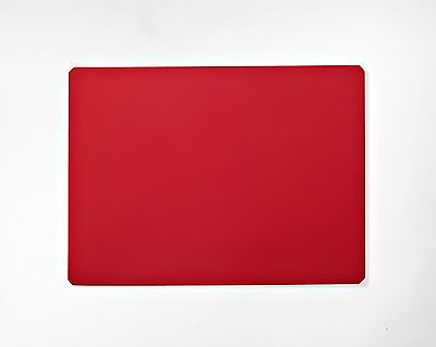 Red 9 X 12 Dry Erase Magnet Sheet - 1 Sheet -- Made In Usa