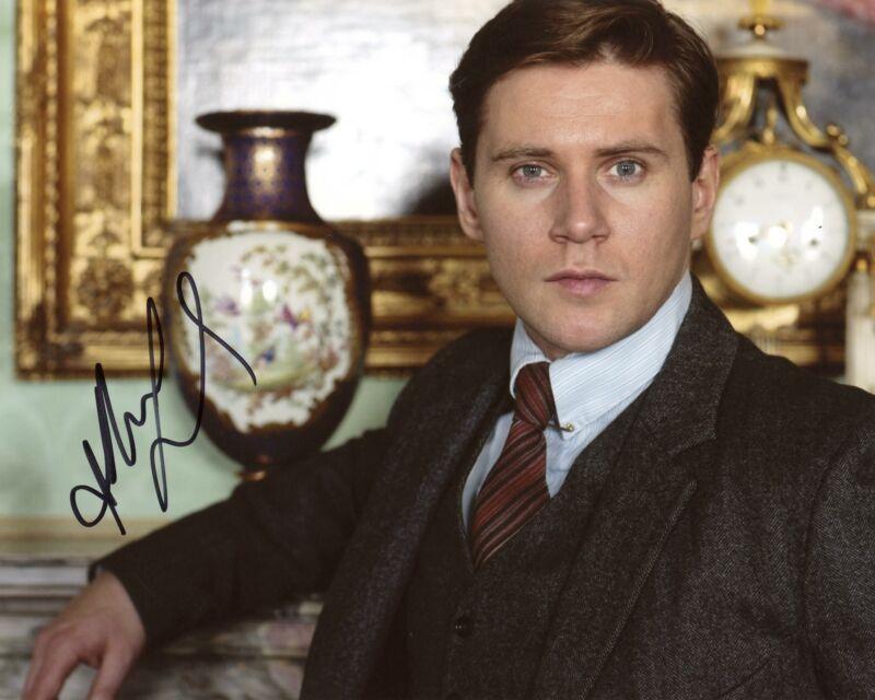 "Allen Leech ""Downton Abbey"" AUTOGRAPH Signed 8x10 Photo F ACOA"