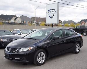 2015 Honda Civic LX ACCIDENT FREE | ONE OWNER | LOW MILEAGE |...