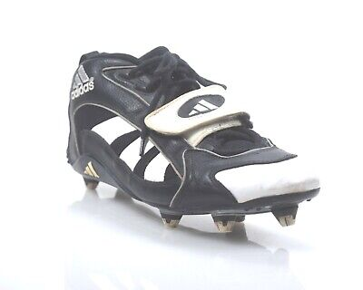 3f47c901321 90 s Adidas Mid Football Cleat Black Wht Cleats (removeable) Sz 12 (11)