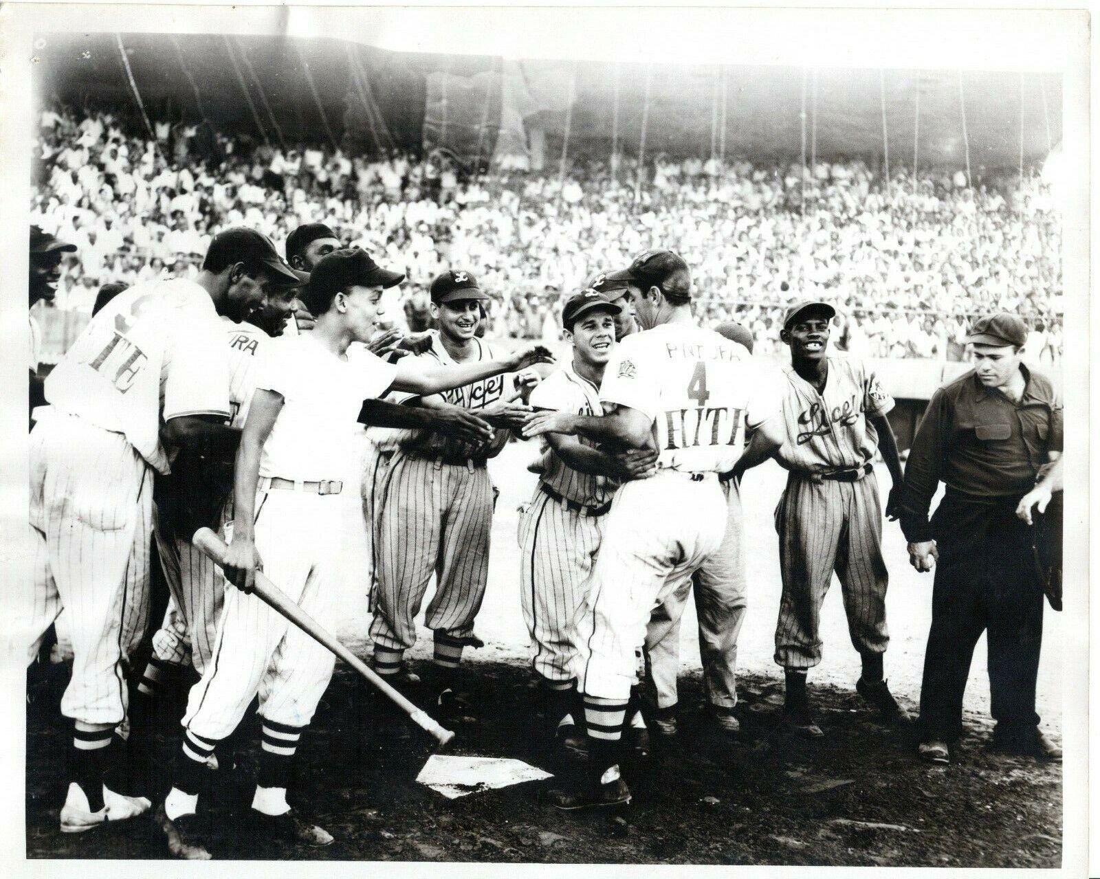1952 Orig Photo Dominican Baseball Puerto Rico HOF Player LUIS R OLMO Licey BBC - $29.99