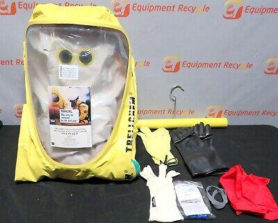 Trelleborg Trellchem Vps Vp1 Large Chemical Hazmat Survival Suit Encapsulated