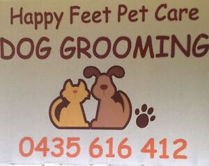 Happy Feet Pet Care Dog Grooming Aubin Grove Cockburn Area Preview