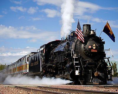 Steam Train 8 x 10 GLOSSY Photo Picture IMAGE #6