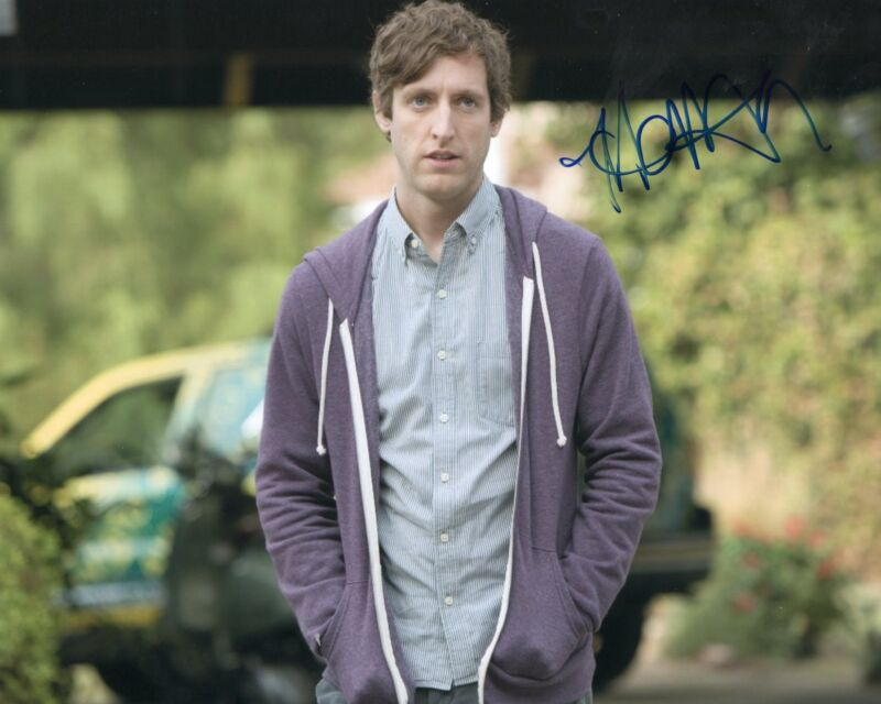 Thomas Middleditch signed 8x10 Photograph w/COA Silicon Valley TV Show Richard A
