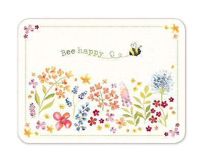 Cooksmart BEE HAPPY Placemats Set of 4 Table Mat Place Dining